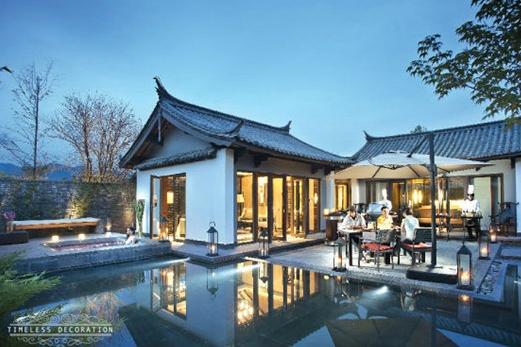 珠联璧合<br />-----协晟联手瑞吉打造玉龙雪山脚下最美别墅,2012年2月,瑞吉全球第15座可持有物业择址中国丽江